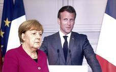 Merkel y Macron plantean reactivar Europa con un fondo de 500.000 millones sin reembolso