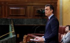 Sánchez salva la prórroga de la alarma a costa de debilitar el bloque de la investidura