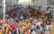 Protesta en Málaga por la gestión de Sánchez