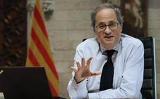 Torra vuelve a exigir la autodeterminación a Sánchez