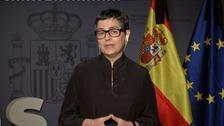González Laya: `Bruselas no nos exige nada más que...