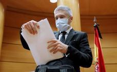 Marlaska pide «volver a la cordura» para zanjar la crisis en la Guardia Civil