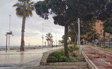Tormentas con fuerte aparato eléctrico en Málaga, con granizadas aisladas y tres incendios forestales
