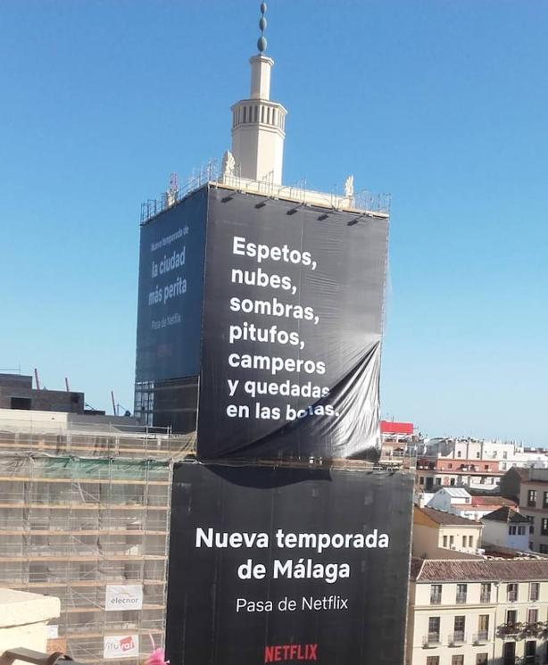 campaña netflix malaga