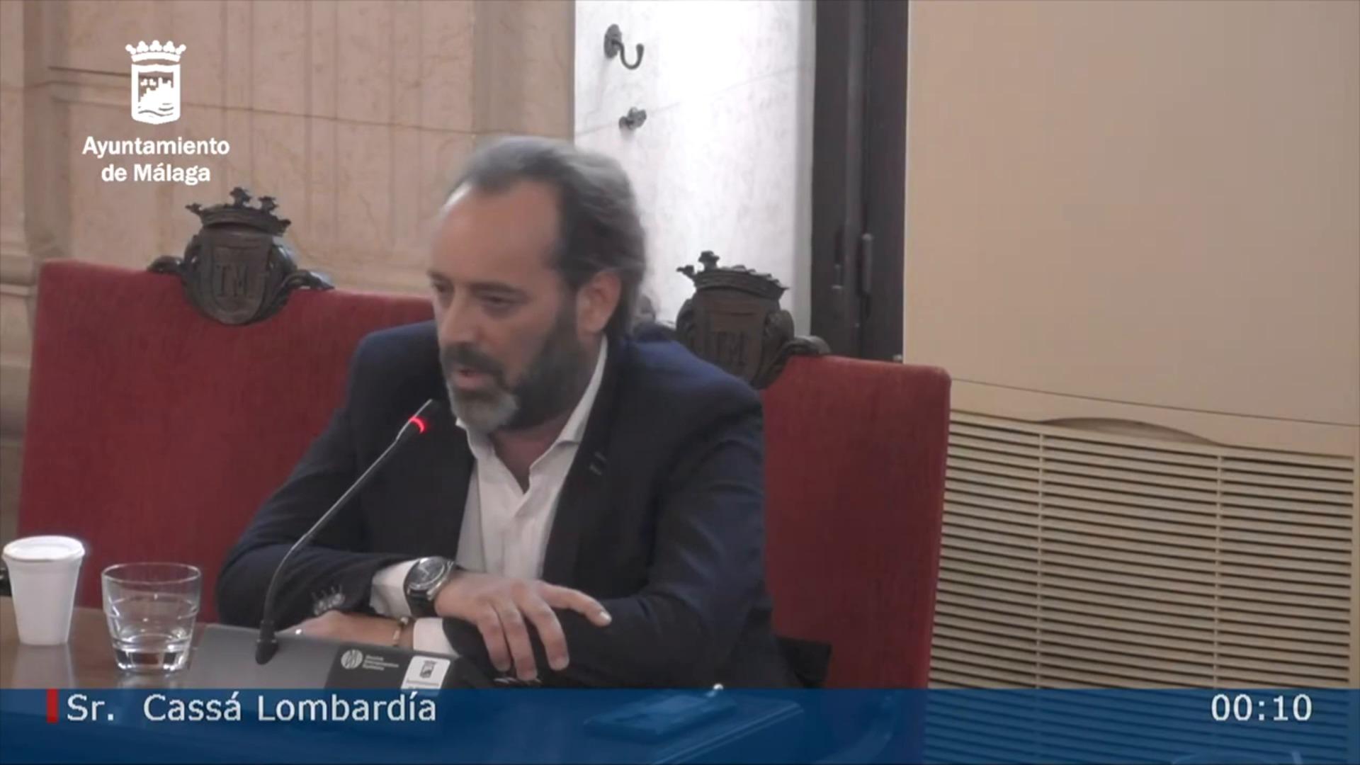 Intervención de Juan Cassá en el pleno en el que se le ha declarado tránsfuga con los votos del PP en contra