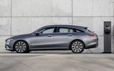 Mercedes CLA Coupé y Shooting Brake, con tecnología híbrida enchufable