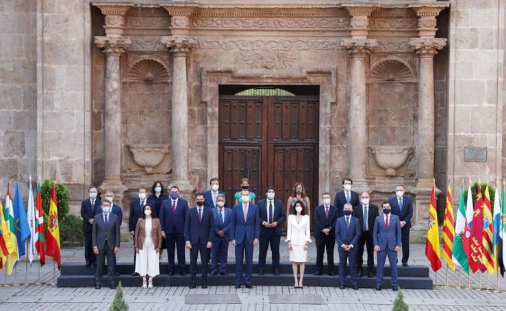 Conferencia de Presidentes Autonómicos, en San Millán de la Cogolla