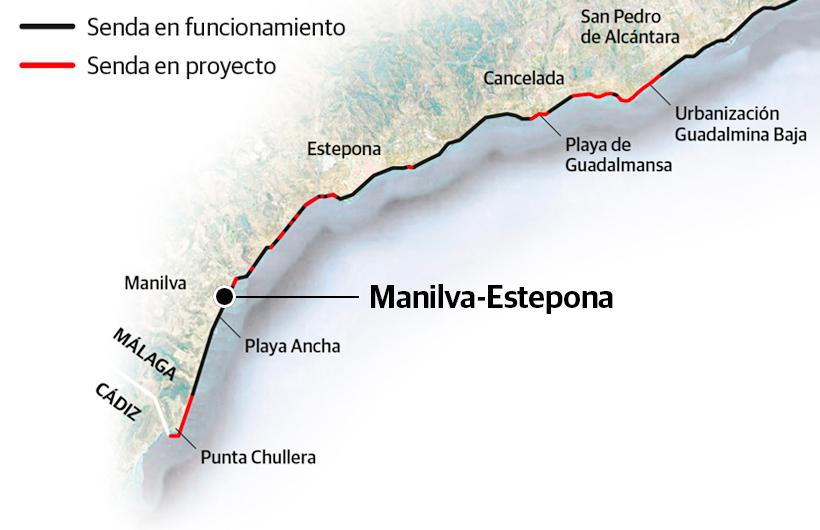 Puente de madera en Estepona/Josele