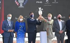 Las instituciones valoran el impacto turístico de la Solheim Cup en plena crisis económica