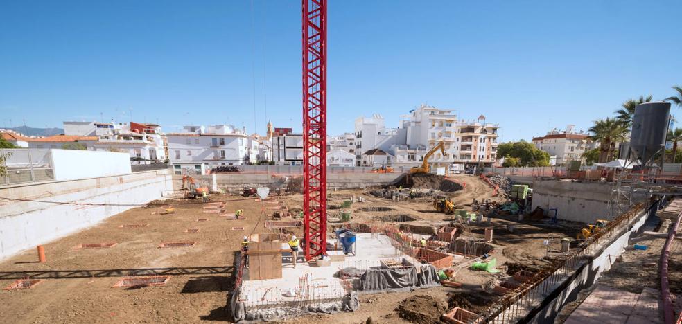 Las obras de ejecución del nuevo Ayuntamiento de Estepona, cerca del 20% de su ejecución 2