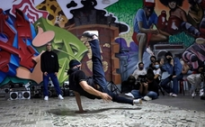 El breakdance malagueño mira a los Juegos Olímpicos de París 2024