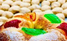 Elaboran en Málaga un roscón de Reyes con masa madre de semilla de olivo