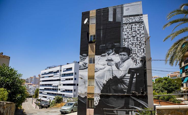 El casco urbano de Estepona, un museo al aire libre