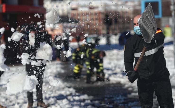 'Filomena' deja una excepcional nevada