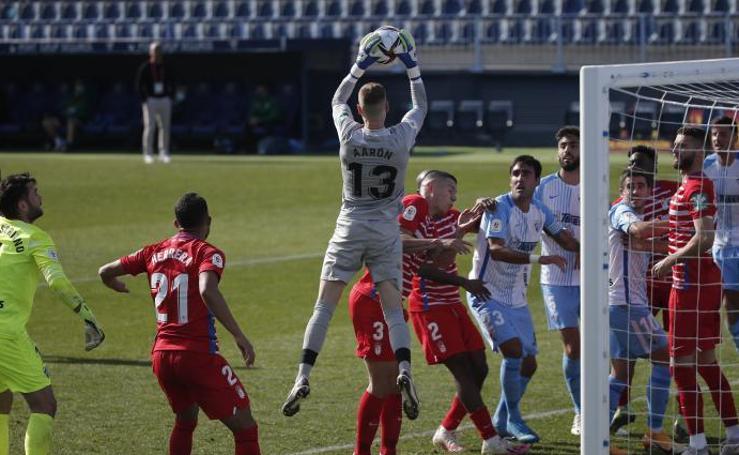 Las mejores imágenes del Málaga - Granada en la Copa del Rey