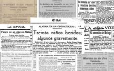 Incendios en los cines de Málaga: pánico y tragedia en el Cinema Concert