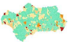 Pueblo a pueblo: Contagios del Covid-19 en Andalucía