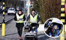 Claire, el bebé que mide la contaminación