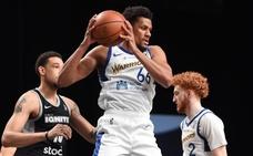 Toupane se estrena en la Liga de Desarrollo de la NBA