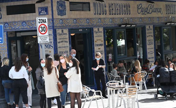 Reapertura de comercios y bares en Marbella y San Pedro