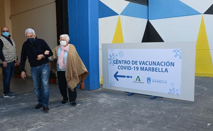 Marbella cuenta con dos centros para la vacunación masiva contra el coronavirus