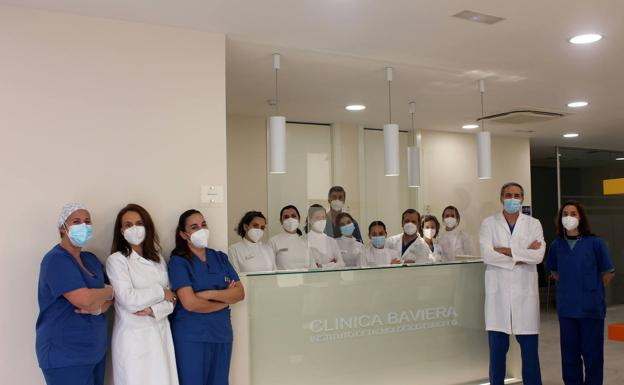Parte del equipo de la sede de Málaga. /SUR