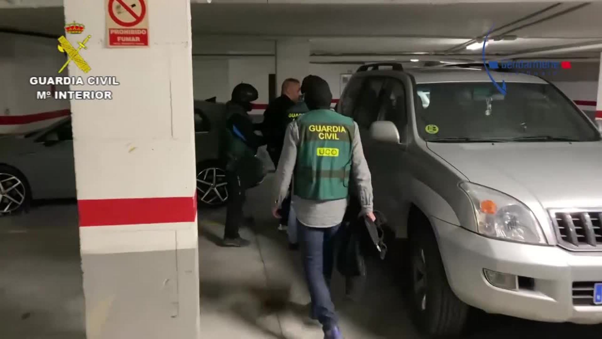 Detenido un capo de la droga cuando escapaba por unas azoteas en Marbella