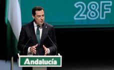Juanma Moreno invoca el espíritu de la Andalucía luchadora y valiente para superar la pandemia