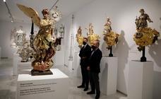 La exposición patrimonial del centenario de la Agrupación de Cofradías, en imágenes