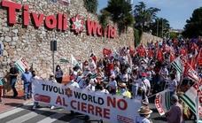 Nuevas marchas de los trabajadores para exigir la reapertura de Tívoli