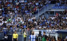 El Málaga, preparado para activar la venta de abonos cuando se aclare el porcentaje de público en los estadios