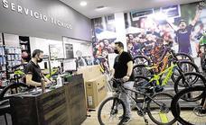 El 'boom' de las bicicletas genera una falta de stock en Málaga
