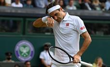 Federer cae con rosco incluido y allana el camino de Djokovic