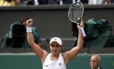 Barty y Pliskova se disputarán el título de Wimbledon