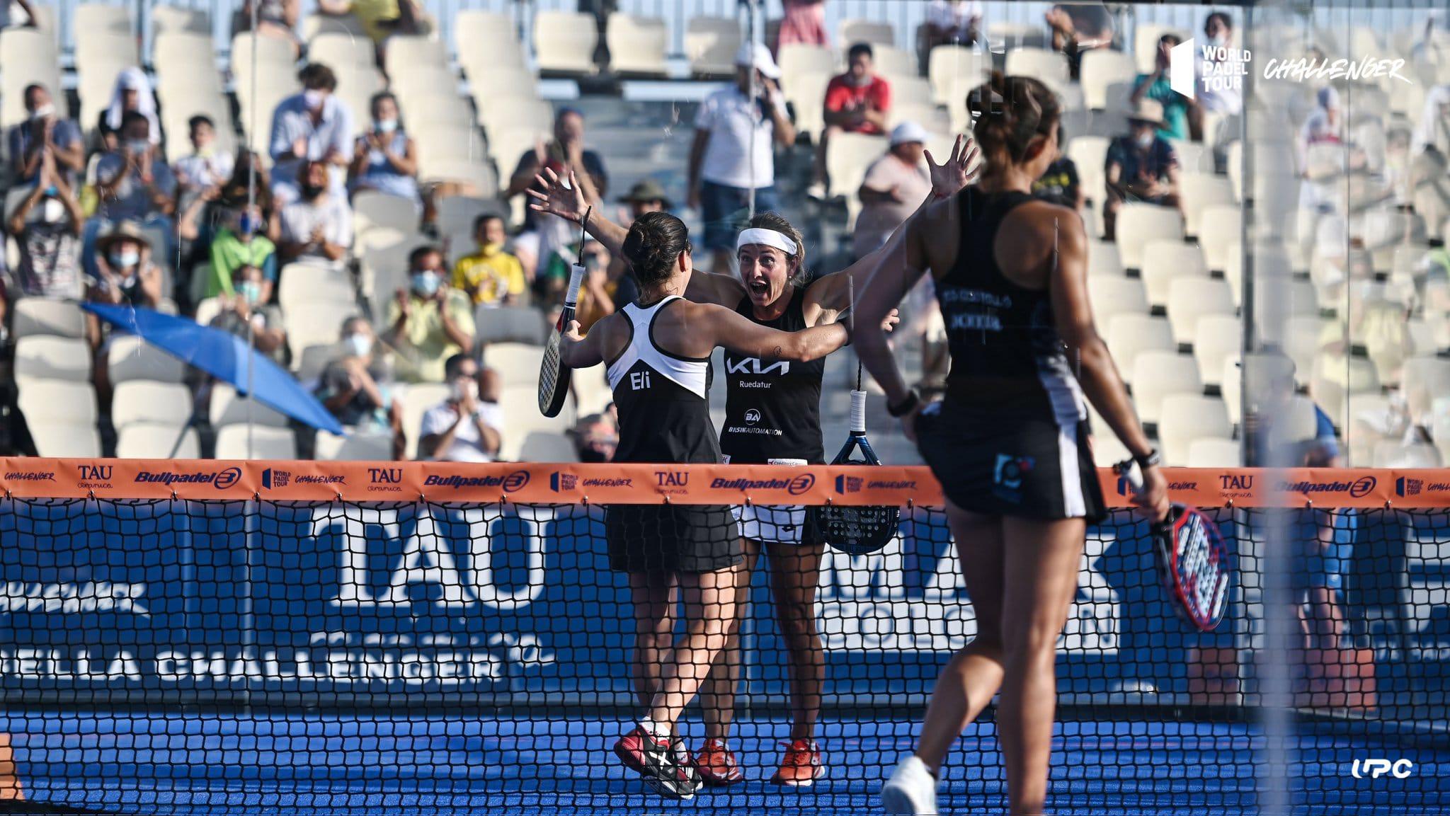 Carolina Navarro y Momo González pelearán este sábado por el pase a la final en Marbella