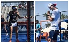 Momo González y Carolina Navarro pelearán por el título del Challenger de Marbella