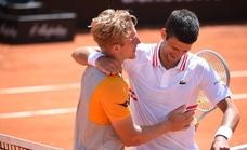 Djokovic: «Davidovich y yo nos llevamos bien; es un gran tipo»