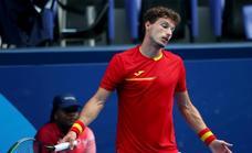 Doble palo para Carreño: pierde ante Khachanov y le espera Djokovic por el bronce