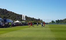 Directo | El Málaga juega ante el Almería su segundo amistoso del día