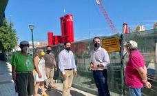 Dani Pérez denuncia irregularidades en el aparcamiento de Echeverría del Palo