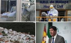 Las últimas informaciones sobre la quinta ola en Andalucía y el pasaporte covid