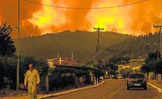 Dos fallecidos por los incendios forestales en Grecia