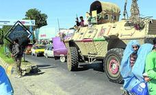 Desbandada general en Afganistán