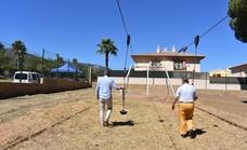 La construcción del nuevo parque 'multiaventuras' en Alhaurín de la Torre entra en su recta final