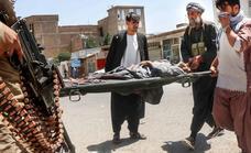 Los señores de la guerra y las milicias locales contra los talibanes