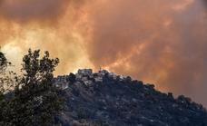 Los incendios en el norte de Argelia se cobran ya 65 vidas