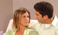 Ross y Rachel niegan el romance que los fans de 'Friends' ansían