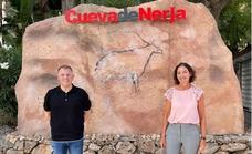 La ministra de Turismo respalda a la Cueva de Nerja con una visita privada a la gruta