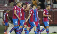 Vídeo: El Barça resuelve con nota el primer partido post-Messi ante la Real