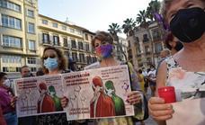 Cientos de personas se concentran en Málaga en apoyo a las mujeres afganas